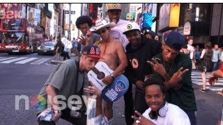 24 Hours with Odd Future in NYC Part 1