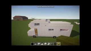 getlinkyoutube.com-Minecraft How To Build a Camper Van/RV #1