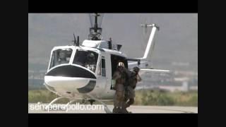 getlinkyoutube.com-Border Patrol UH-1: El Paso 2009 Fast Rope/Special Response Demo
