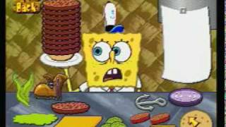 getlinkyoutube.com-SpongeBob SquarePants Dilly Dabbler TV Game