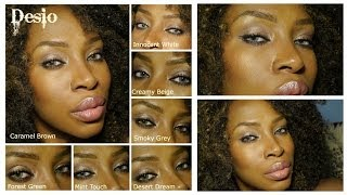 getlinkyoutube.com-Desio Eyes... a contact lens Show & Tell