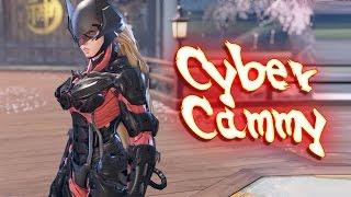 getlinkyoutube.com-Street Fighter V PC mods - Nanomachines cammy (Cyber Cammy) by THEJAMK