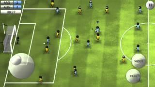 getlinkyoutube.com-[Stickman Soccer 2014] Pull back shot