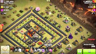 Anti 2 Star TH10 War base 99% 1 star my root!!!