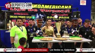 Los Verdes Campeones de los Jueves Liga Latinoamericana