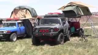 getlinkyoutube.com-Toyota FJ's at the Overland Expo
