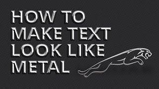 getlinkyoutube.com-Affinity Designer - How to Make Text Look Like Metal
