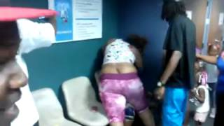 getlinkyoutube.com-Ghetto fight at the food stamp office in Mn...