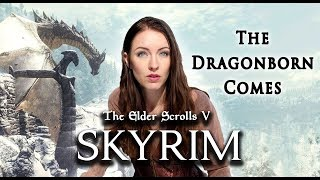 Skyrim - The Dragonborn Comes (Cover by Minniva featuring Christos Nikolaou) width=