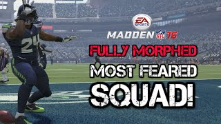 95 OVR FULLY MORPHED Most Feared Squad | Marshawn Lynch is STILL DOMINATING! | Madden 16 Ultimate Te