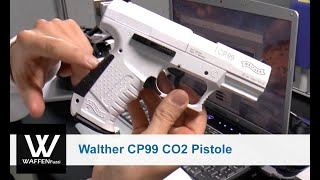 getlinkyoutube.com-Walther CP99 CO2 Pistole 4,5 mm Diabolo Snowstar, CO2 Waffenschusstest, www.waffenfuzzi.de