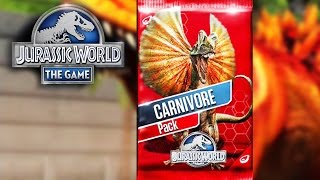 getlinkyoutube.com-Jurassic World: The Game - Carnivore Dinosaurs Pack Opening