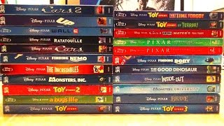 My Complete Disney/Pixar Blu-Ray Collection - 2016 Update