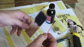 getlinkyoutube.com-ДОСТУПНАЯ Краска для кожи своими руками !!!!