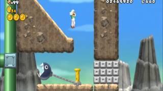getlinkyoutube.com-New Super Mario Bros Wii Custom Stages