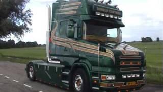 getlinkyoutube.com-Scania Torpedo 580 V8 Truck Ronald Kenters from Ter Aar, the Netherlands 2009