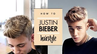 getlinkyoutube.com-Justin Bieber Hair Tutorial ★ Men's Celebrity Hairstyle ★ By Vilain Gold Digger