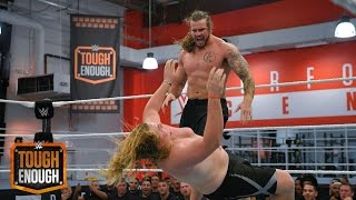 getlinkyoutube.com-ZZ and Josh jockey for position: WWE Tough Enough, August 11, 2015