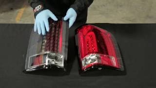 getlinkyoutube.com-AnzoUSA 2007.5-2013 LED Silverado Tail light install