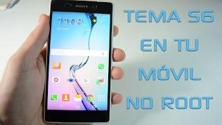 getlinkyoutube.com-Tema del Samsung Galaxy S6 en tu móvil! (Root no necesario)