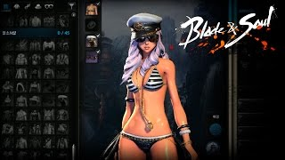 getlinkyoutube.com-Blade & Soul 2.3 - New Wardrobe System - All 290 Dobok & Accesories Showcase - KR