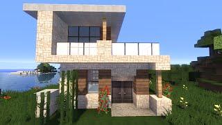 getlinkyoutube.com-Красивый дом в майнкрафт. Строим Вместе! - Строительство - Minecraft