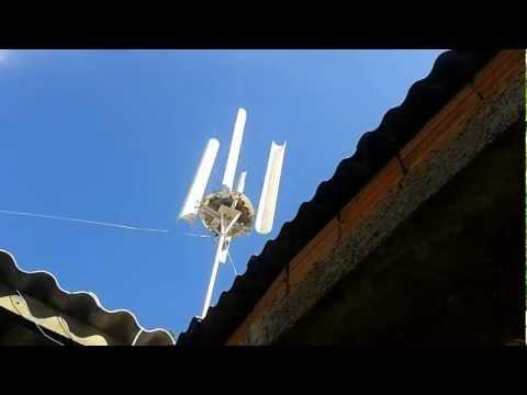 meu gerador eolico caseiro
