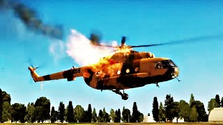 getlinkyoutube.com-DCS World Helicopter Crashes Compilation #1 - DCS World Helicopter Crash Montage 1080p 60fps