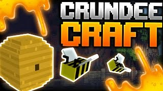 getlinkyoutube.com-Minecraft: WE ARE SWIMMING IN HONEY! | CRUNDEE CRAFT