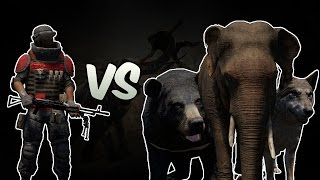 getlinkyoutube.com-Far Cry 4| Arena | 250 Heavy Gunner VS Animals