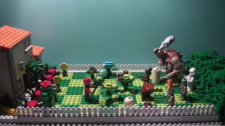 getlinkyoutube.com-Lego Plants vs Zombies