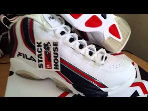 Unboxing Fila Stack 2 Jerry Stackhouse