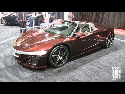 Cars of SEMA 2012 - part 1
