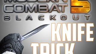 getlinkyoutube.com-Modern Combat 5 Knife Trick