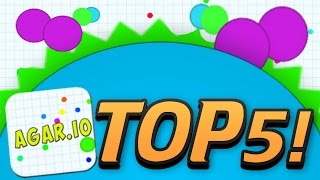 getlinkyoutube.com-AGARIO TOP 5 MOMENTS! - Trolling, Mods, Highscore, Biggest, Funny Moments! -  (Agar.io Part 1)
