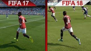 Comparison | FIFA 17 vs. FIFA 18 | PC | ULTRA