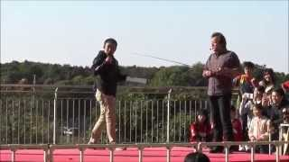 これは必見!スーパーテクニック!釣りバカニッシ 村田基キャスティング講座 鹿島 オープンスタジアム2015
