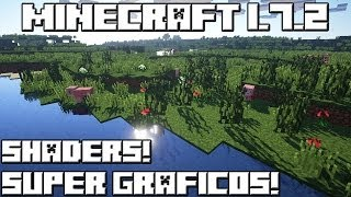 getlinkyoutube.com-Minecraft 1.7.2 SHADERS! SUPER GRÁFICOS!