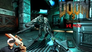 Testing My Touch Shot Elite Gun MOD In Doom 3 BFG VR With The Oculus Rift + Touch