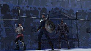 getlinkyoutube.com-TODOS los Trajes Nuevos Capitan America 6 Estrellas Máximo Poder Marvel Future Fight