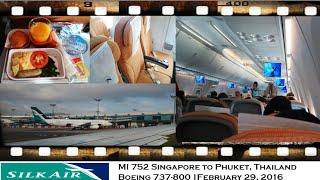 getlinkyoutube.com-SILKAIR MI 752 Singapore to Phuket, Thailand Boeing 737-800