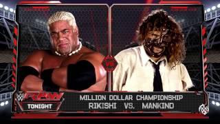 WWE 2K16 Rikisi vs Mankind