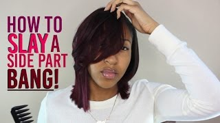 Feathered Bang Tutorial + NEW Style!