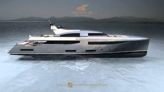 getlinkyoutube.com-'Dislopen' - 50m Motor Yacht Project by CRN