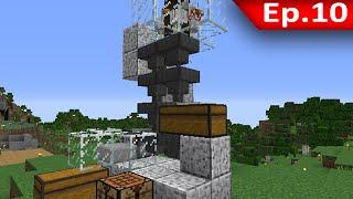 getlinkyoutube.com-Tackle⁴⁸²⁶ Minecraft (1.8.7) #10 - Farm ไก่อัตโนมัติ (งบหมด)