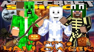 getlinkyoutube.com-Minecraft School - VISITING HALLOWEEN TOWN #1 w/ Littlelizard & Tinyturtle