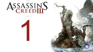 getlinkyoutube.com-Assassin's creed 3 walkthrough - part 1 HD Gameplay AC3 assassins creed 3 (Xbox 360/PS3/PC) [HD]