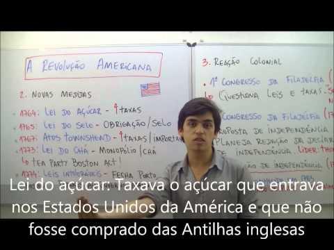 AULA HISTÓRIA - A REVOLUÇÃO AMERICANA - MAR13 - PROF. GABRIEL FEITOSA