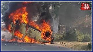 स्पेशल रिपोर्ट  जातीय हिंसा की आग में झुलसा महाराष्ट्र; मुंबई में कई जगह हिंसा, ट्रेनों के पहिए जाम