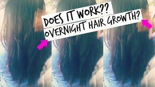 HOW TO GROW Your Hair OVERNIGHT| TESTED | It Actually Worked!